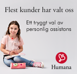 annons Humana Personlig assistans