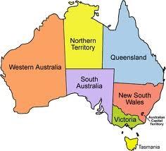 Australien Karta Lander.Direct Payments Pa Vag Att Inforas I Hela Australien