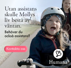Humana Personlig assistans annons