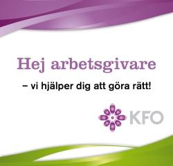annons Arbetsgivarföreningen KFO